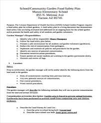 29 safety plan formats free u0026 premium templates