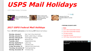 usps mail holidays updates by usps holidays