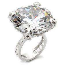 large diamond rings leala s large carat imitation diamond ring j