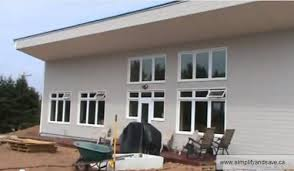 passuve s0lar bermed house with icf walls in canada