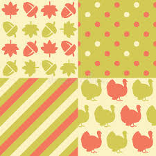 thanksgiving patterns stock vector image of decorative 60899118