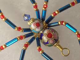 the latest creation from treasures by tiziana cloisonné beaded