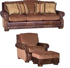 Fabric Leather Sofa Bradley S Furniture Etc Mayo Leather And Fabric Sofas