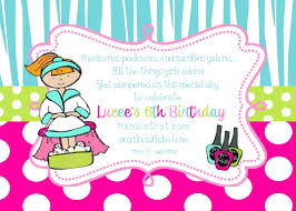 pamper party invitations theruntime com