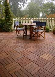 wood composite patio pavers can go an existing concrete