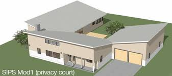 Sips Floor Plans Architect Designed Modern House Plans For Sips Construction Sips