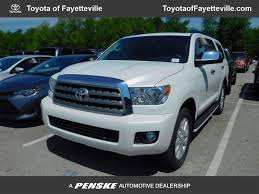 toyota sequoia 2017 new toyota sequoia platinum rwd at toyota of fayetteville
