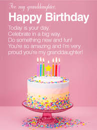 amazing happy birthday candle you re amazing happy birthday wishes card for granddaughter