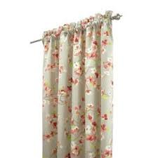 Pink And Orange Shower Curtain Home Decorators Collection Hana 72 In Pink Grey Shower Curtain