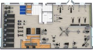 Home Floor Plans Tool Gym Floor Plan Roomsketcher
