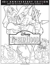 disney movies coloring pages disney robin hood coloring pages http fullcoloring com disney