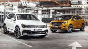 comparativa suv volkswagen tiguan contra ford edge topgear es