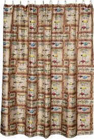 Cabin Shower Curtains Cabin And Lodge Bath Decor Antique Fishing Lures Shower Curtain