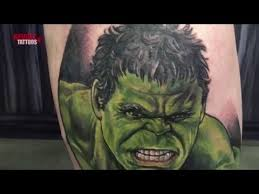 incredible hulk joey hamilton revolt tattoos youtube