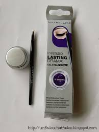 Maybelline Gel Eyeliner Review unfade what fades maybelline lasting drama gel eyeliner 10 ultra