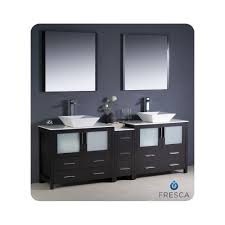 bathroom double sink vanity ideas cabinets u0027 master bath in bone with knee space and dual vanities