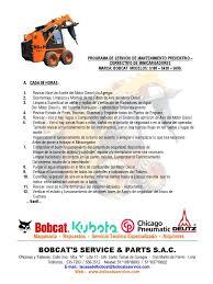 manual uso bobcat