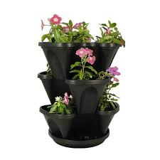 Vertical Garden Pot - nancy jane vertical gardening self watering 12 in stacking