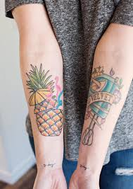 my new pineapple tattoo u2013 a beautiful mess