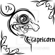 zodiac sign tattoo capricorn by mptribe on deviantart
