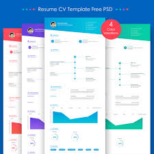 free resume templates download psd templates 25 best free resume cv templates psd download download psd web