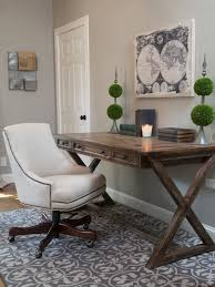 Living Room Desk Chair 20 Great Farmhouse Home Office Design Ideas Joanna Gaines