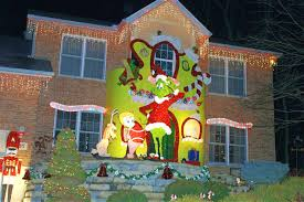 grinch decorations shape whoville remedygolf us