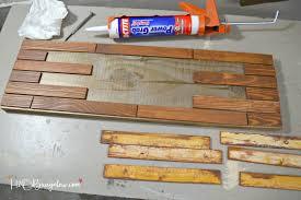 diy horizontal wood slat address plaque tutorial h20bungalow