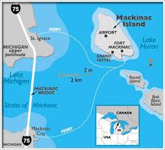 map of mackinac island line shift enter