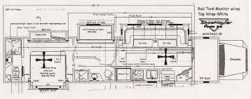 100 prevost rv floor plans 1996 1997 prevost le mirage