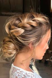 put up hair styles for thin hair 27 incredible hairstyles for thin hair messy braid buns messy
