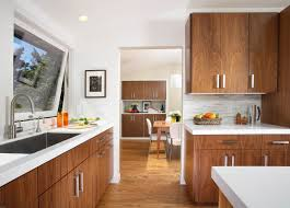 wood kitchen cabinets with white countertops white countertop wood cabinets houzz