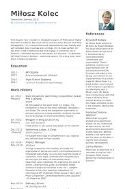 Sample Resume For Delivery Driver by Organizer Resume Samples Visualcv Resume Samples Database