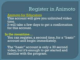 movies in a minute instructions for making animoto movies created