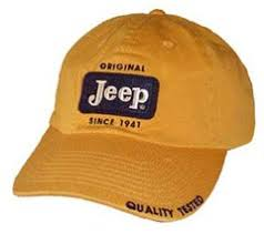 Jeep Hat All Things Jeep Jeep Cap Original Patch Hat Gold Yellow Color