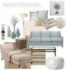 hamptons chic beach house style coastal decorating ideas
