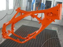 painting a frame tech help race shop motocross forums