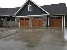 Painting Aluminum Garage Doors by Wood Look Garage Doors Twin Cities Mn Idc Automatic