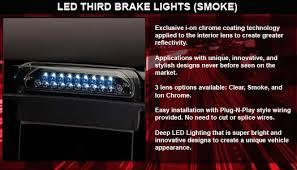 Putco Lights Putco Smoke Led Replacement Third Brake Lights Huge Selection Of