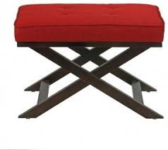 X Bench Ottoman Small Ottomans Footstools Foter