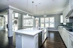 Grey Kitchen Walls With Oak Cabinets Gray Kitchen Walls Oak Cabinets U2013 Moute