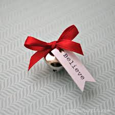 the first gift of christmas make your own bell u0027from santa u0027s