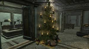 modding skyrim the twelve mods of christmas nag lakesidetree