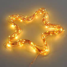 Light String Led by Amazon Com 20ft Starry String Lights Warm White Color Led U0027s On A
