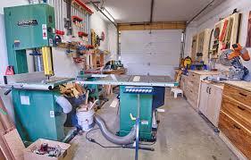 others garage woodshop wood shop plans garage space savers