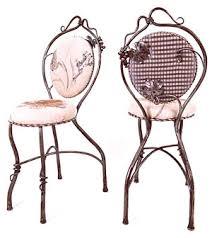 Vine Chair Blacksmithchic Com Gawk At Grape Leaf And Vine Ironwork