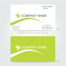 Ai Business Card Template Free business card template illustrator vector graphic 365psd