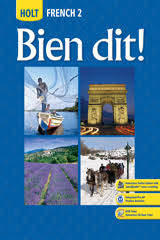 Bien Bleu Online Shop by Bien Dit Middle And High French Textbooks