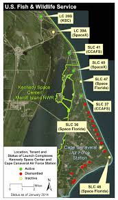 Launch Maps Proposed Shiloh Launch Complex Merritt Island U S Fish And