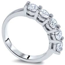 real diamonds rings images Ladies 14k ring 1 25ct lovely 5 stone real diamond jpg